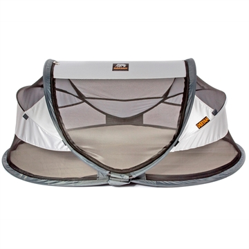 Travel Cot Baby Luxe - Sølv